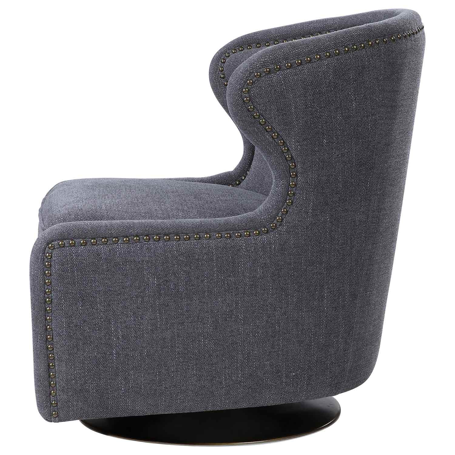 Uttermost Biscay Swivel Chair