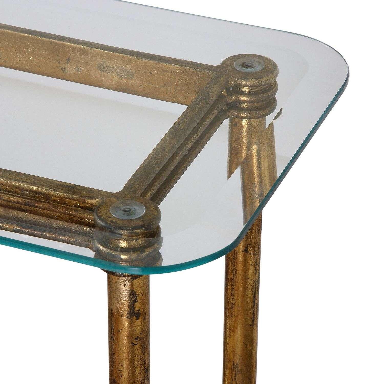 Uttermost Elenio Console Table - Glass