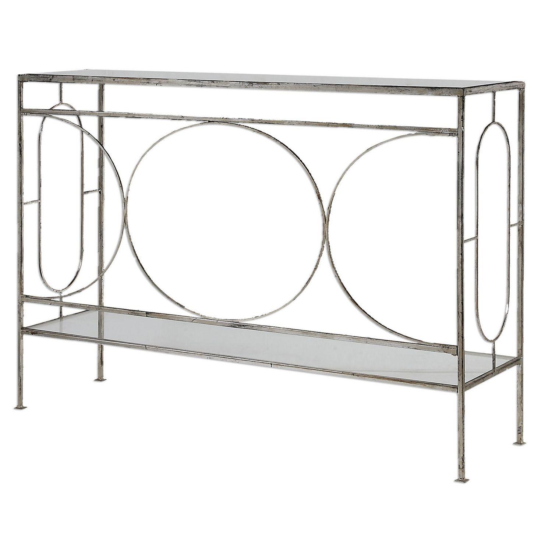 Uttermost Luano Console Table - Silver