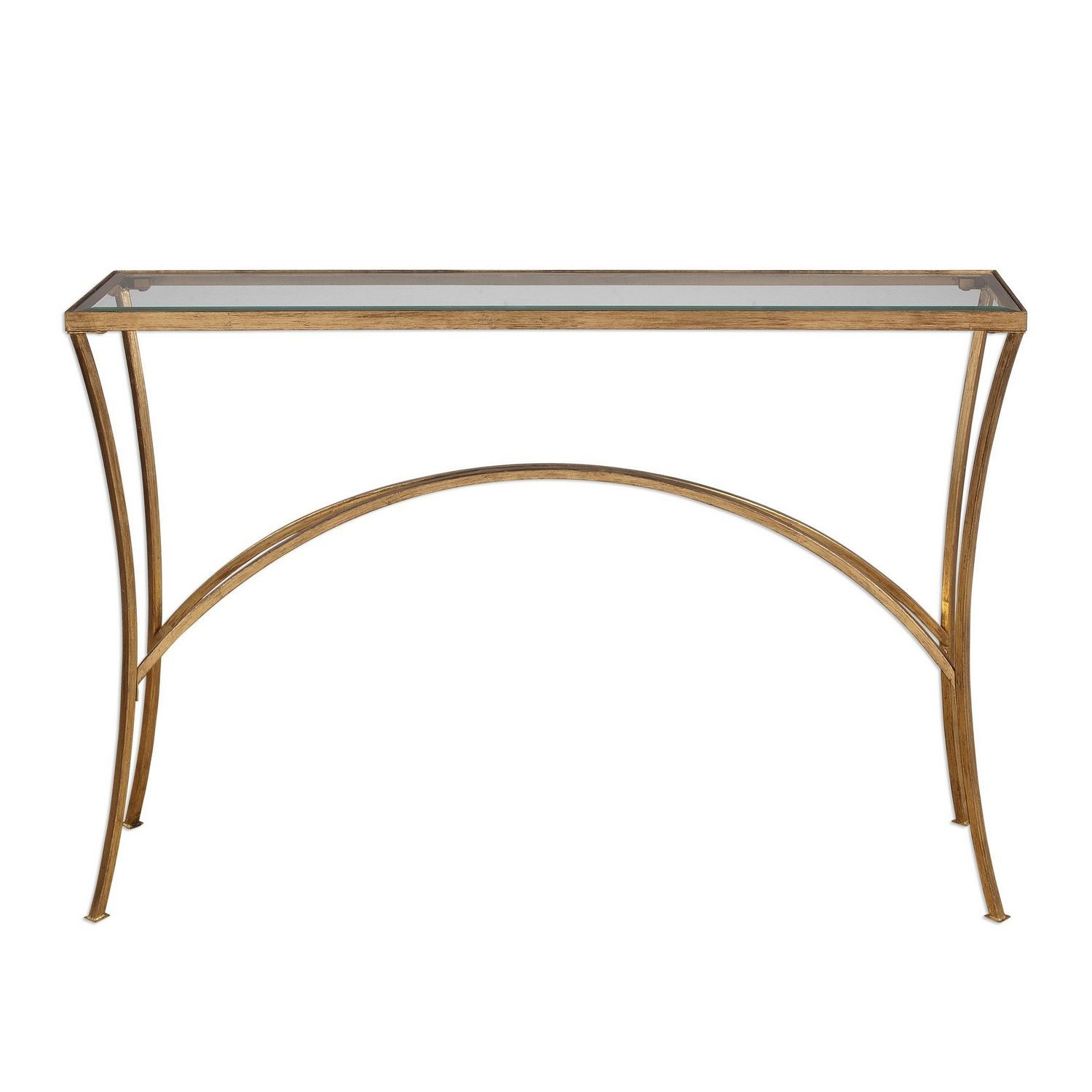 Uttermost Alayna Console Table - Gold