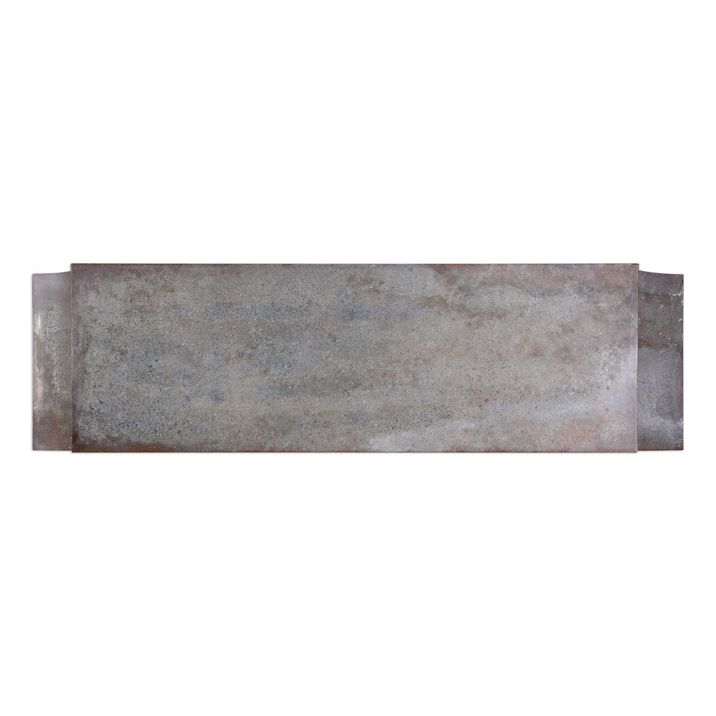 Uttermost Agathon Console Table - Stone Gray
