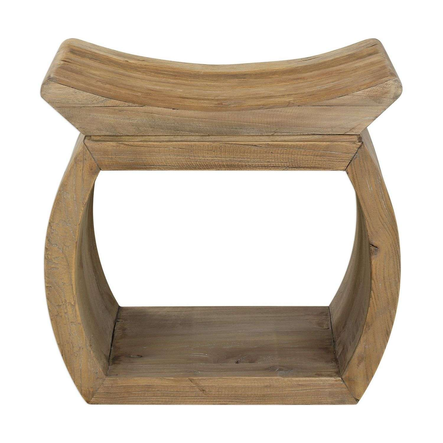 Uttermost Connor Elm Accent Stool