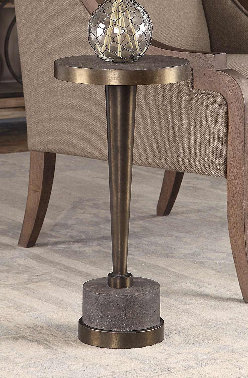 Uttermost Masika Accent Table - Bronze