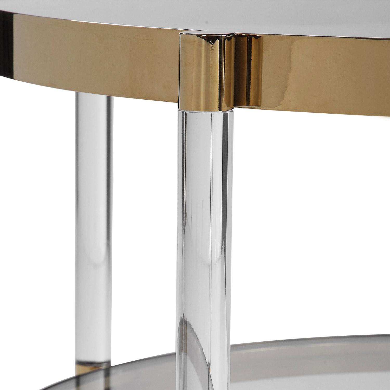 Uttermost Kellen Glass Coffee Table