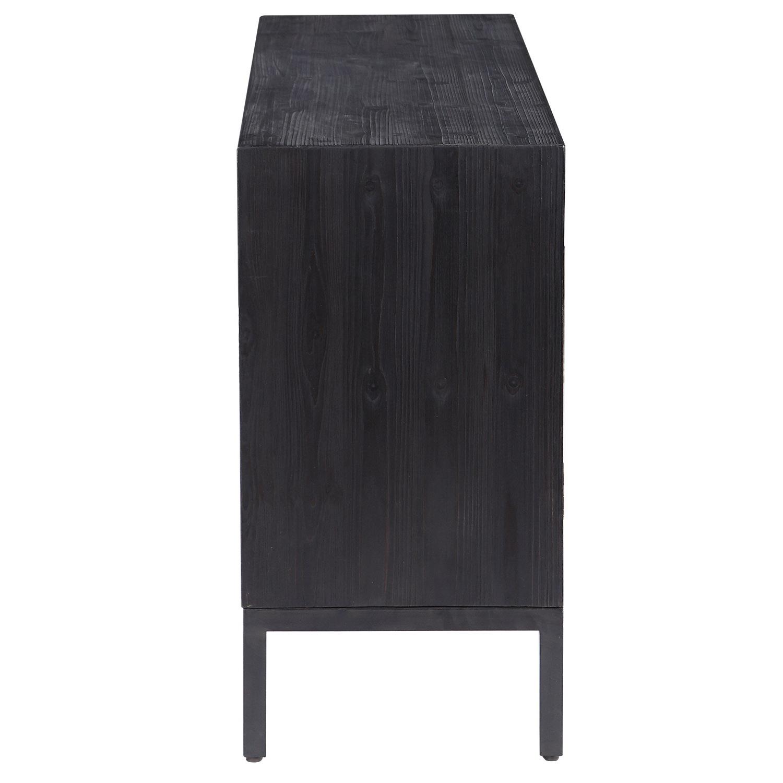 Uttermost Aiken 2 Door Cabinet - Dark Walnut