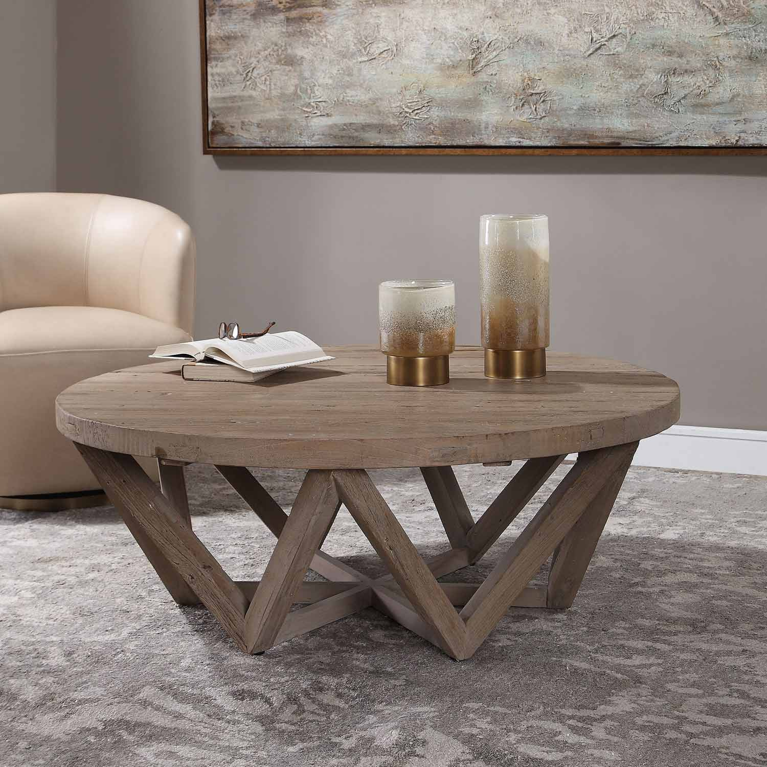 Uttermost Kendry Reclaimed Wood Coffee Table