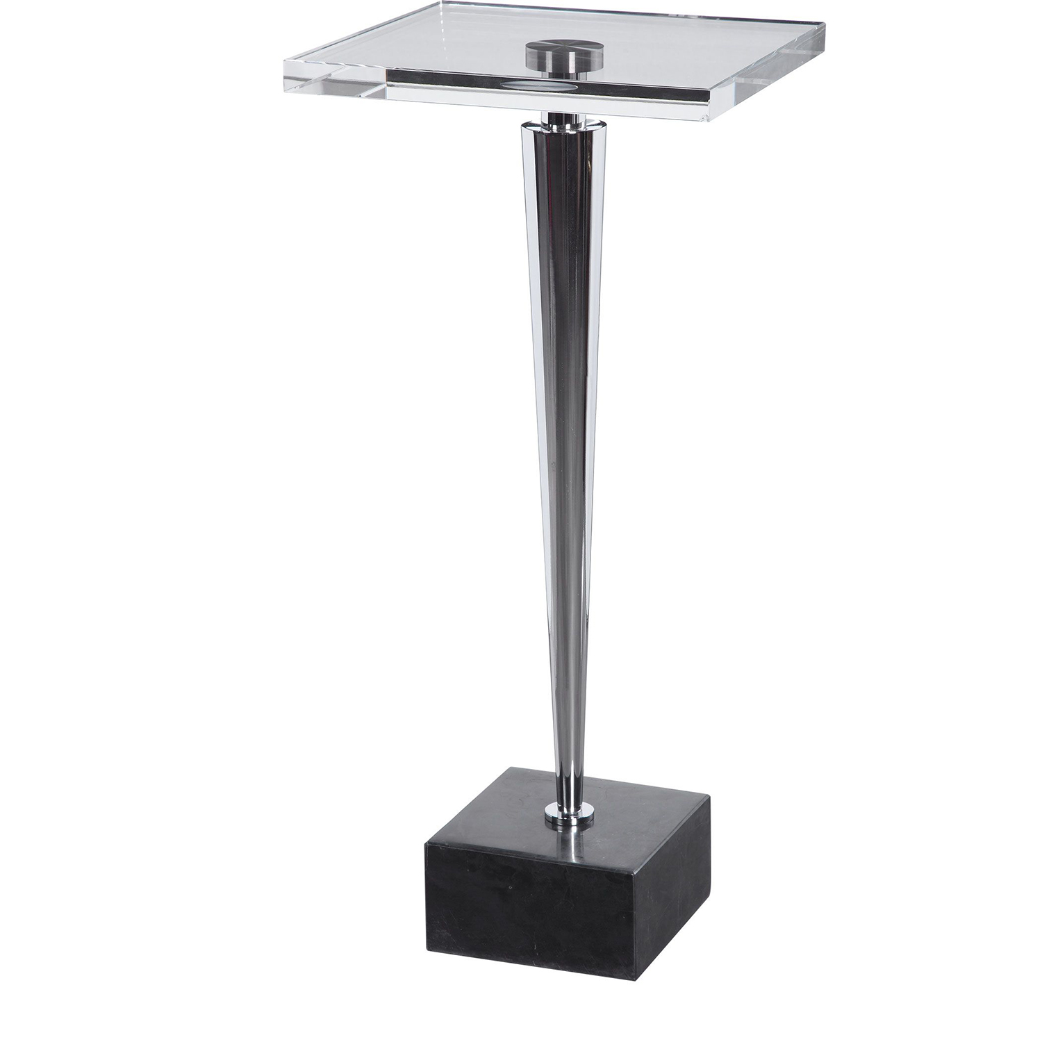Uttermost Campeiro Drink Table - Nickel