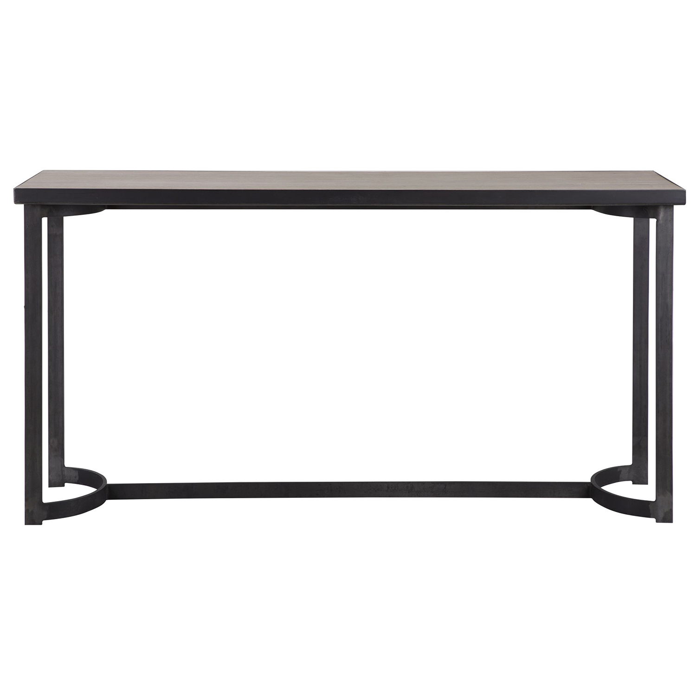 Uttermost Basuto Console Table - Steel