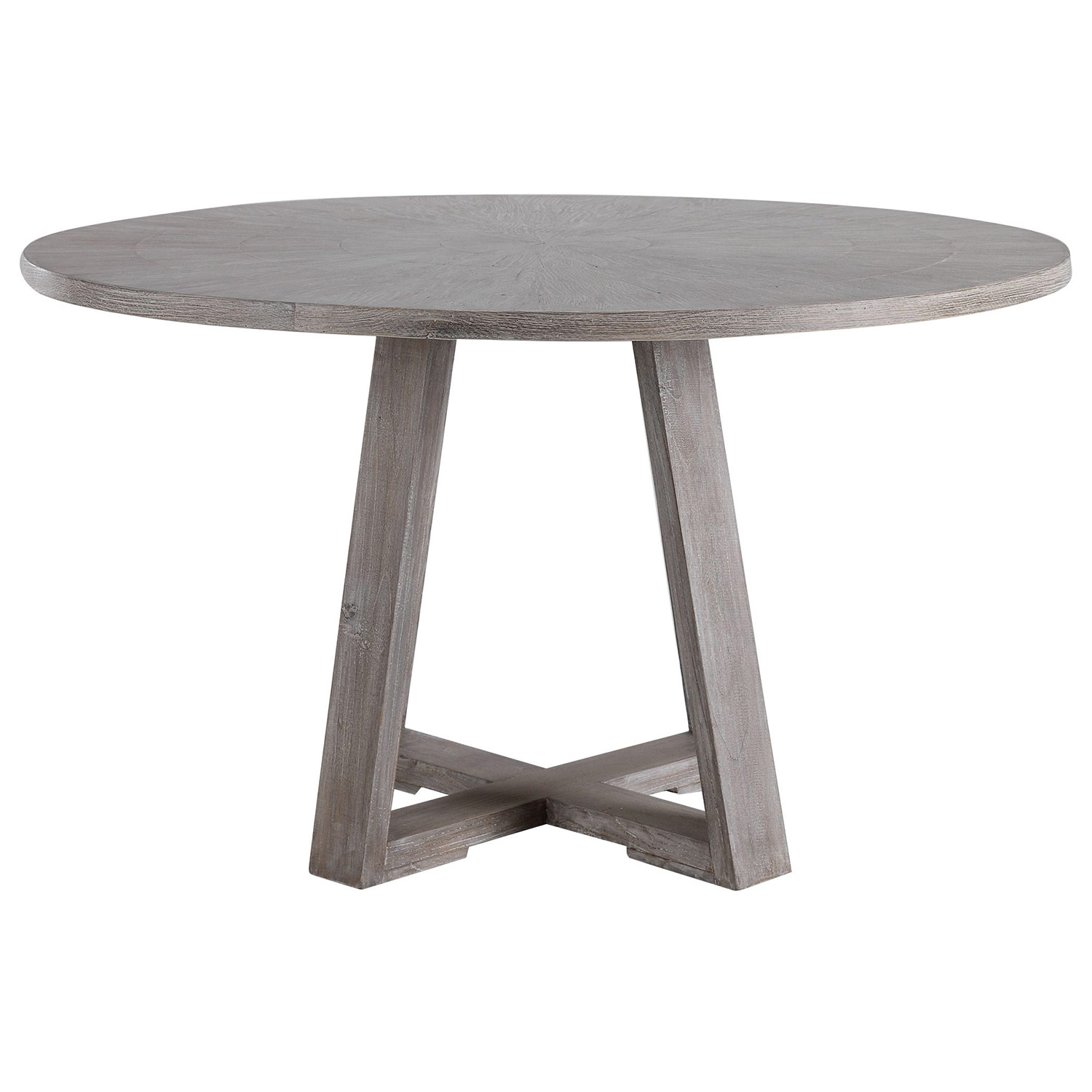Uttermost Gidran Dining Table - Gray
