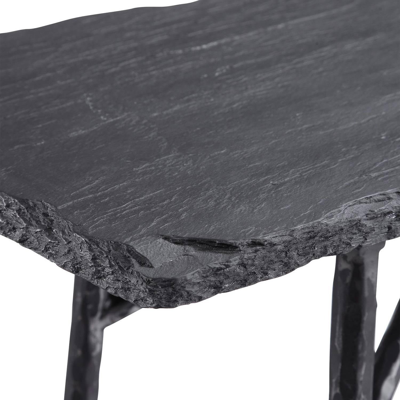 Uttermost Kaduna Console Table - Slate