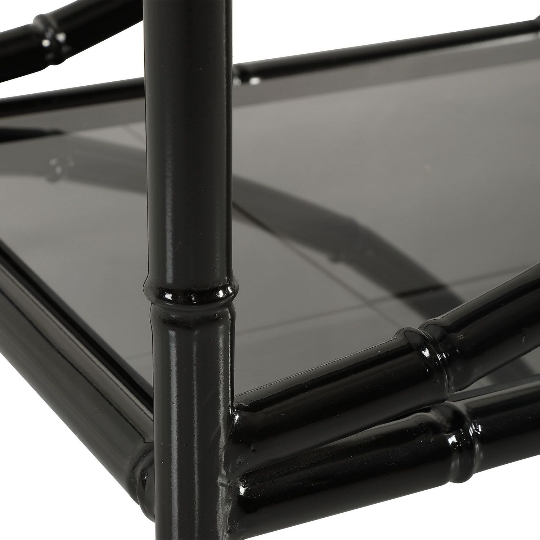 Uttermost Hinton Iron Etagere - Black