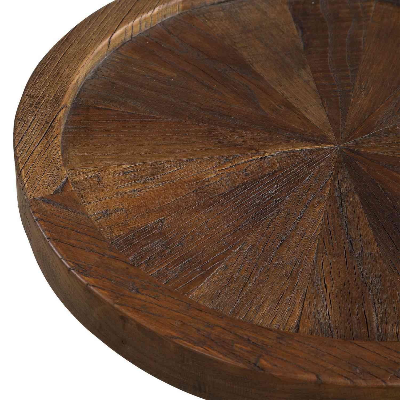 Uttermost Horton Accent Table - Rustic