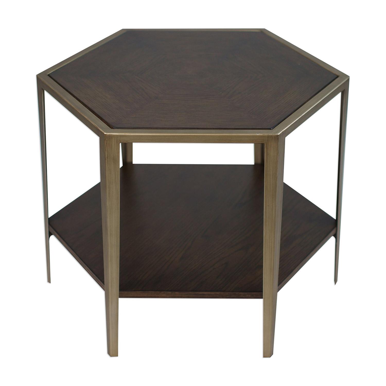 Uttermost Alicia Accent Table - Geometric