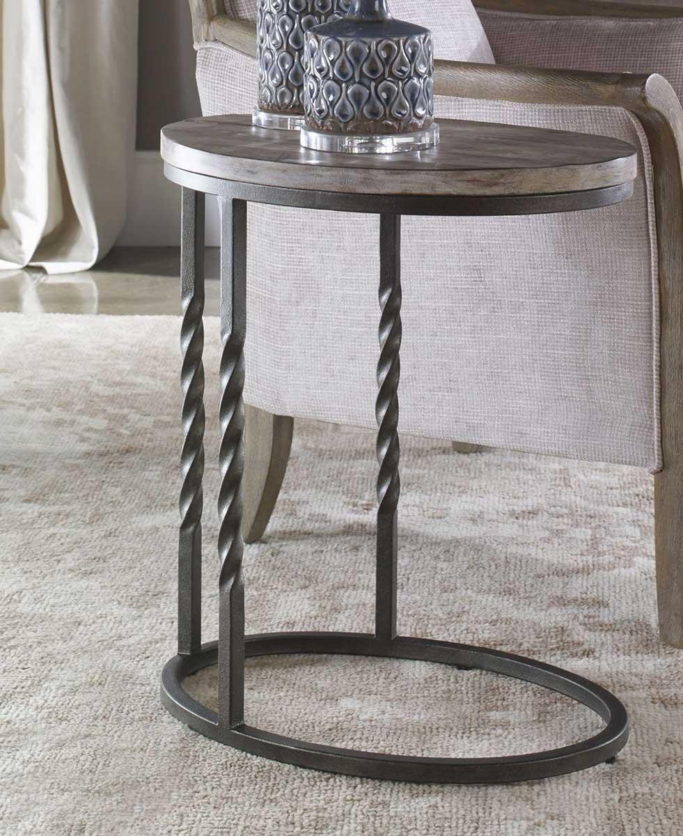 Uttermost Tauret Cantilever Side Table