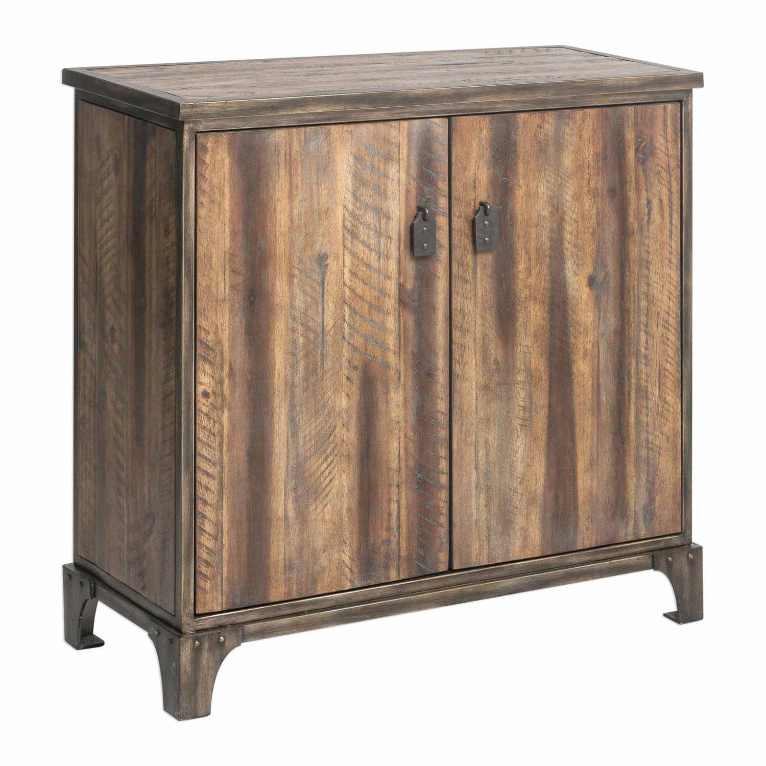 Uttermost Trevin Accent Cabinet - Rustic