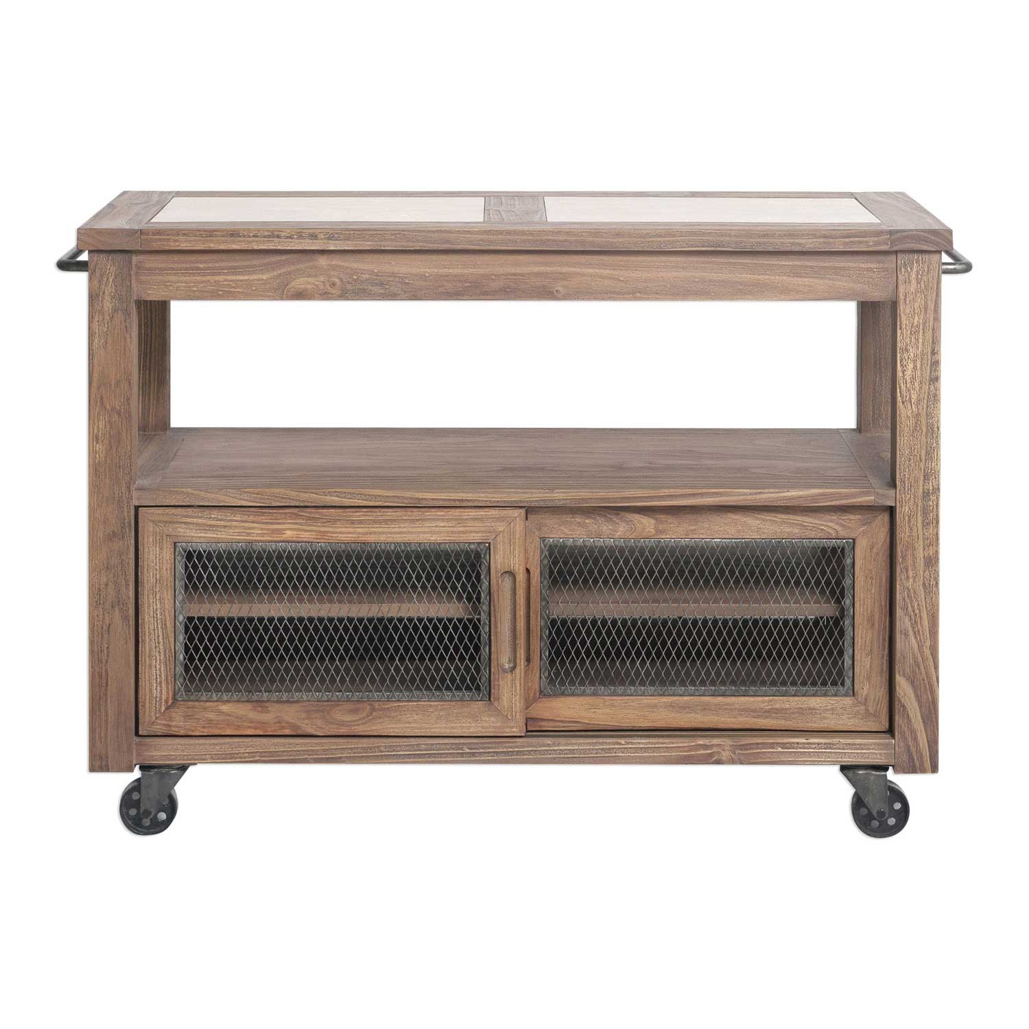 Uttermost Wallace Farmhouse Kitchen Island