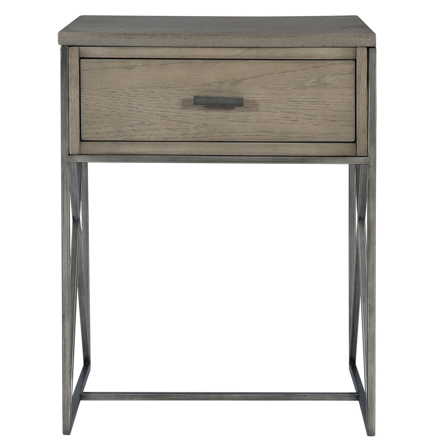Uttermost Cartwright Side Table - Gray