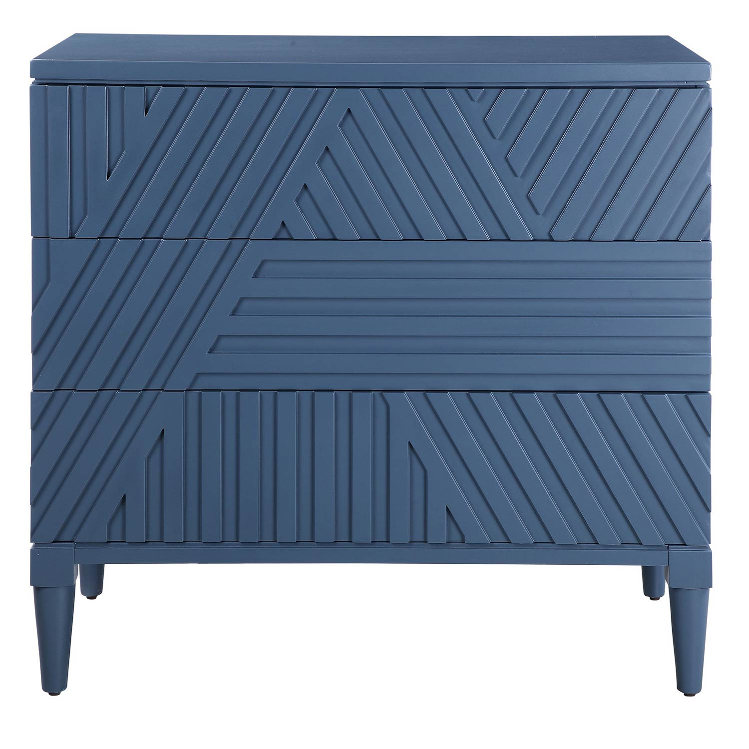 Uttermost Colby Drawer Chest - Blue