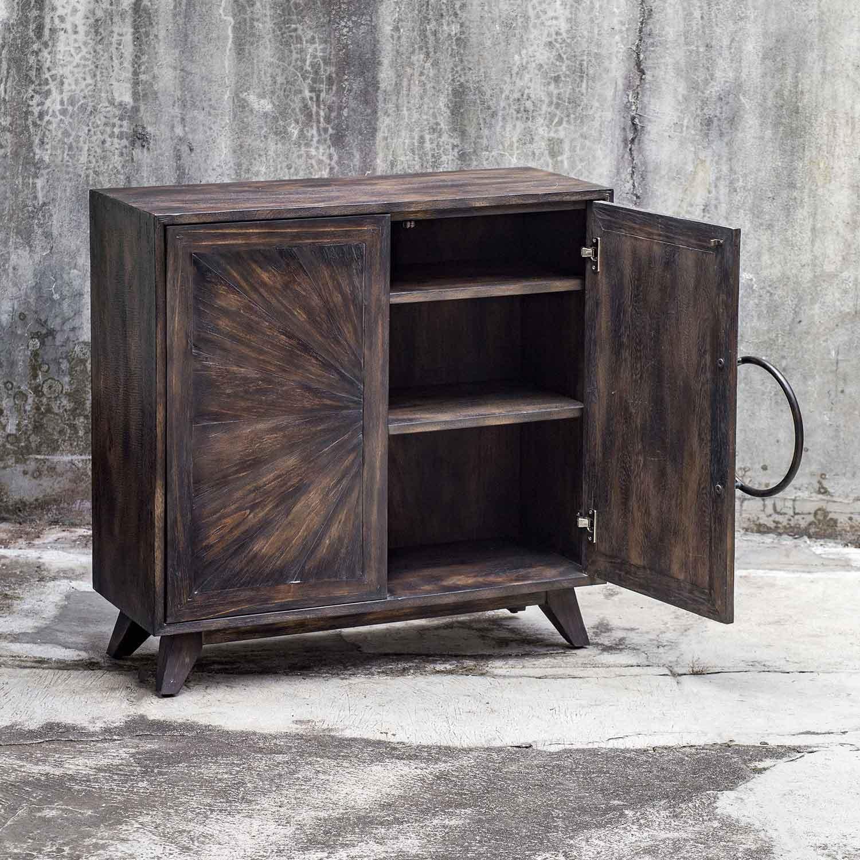 Uttermost Kohana Console Cabinet - Black