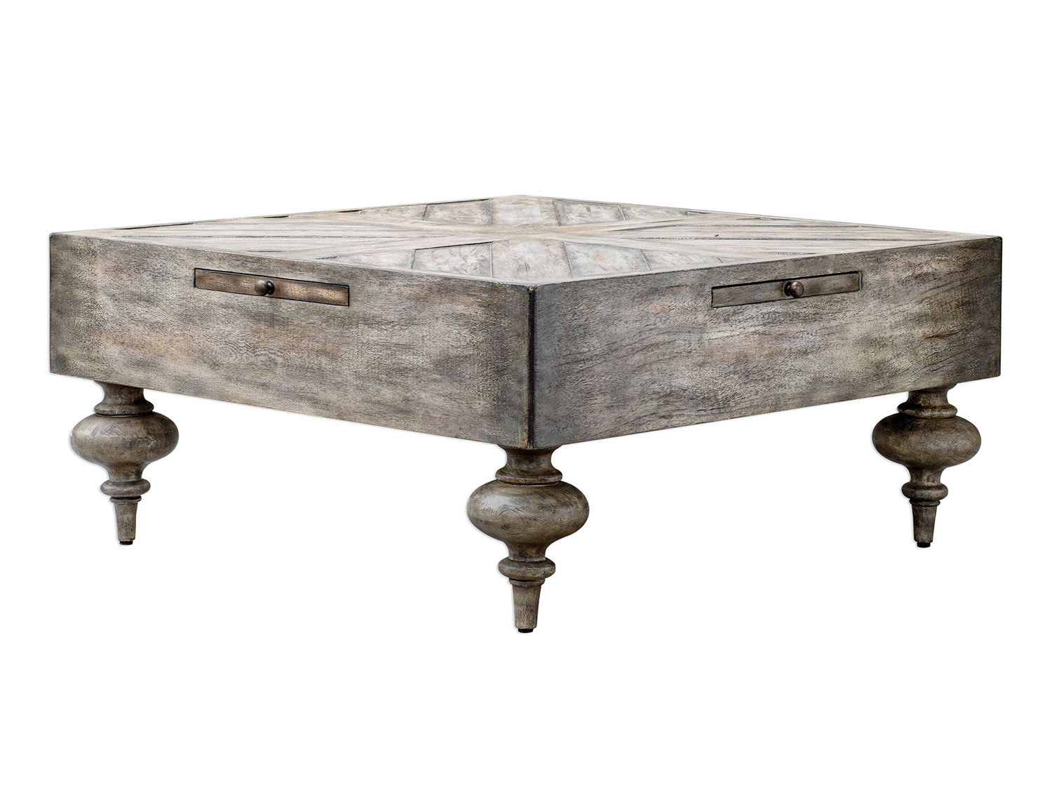 Uttermost Nikita Coffee Table Driftwood UTTERMOST At - Uttermost driftwood coffee table