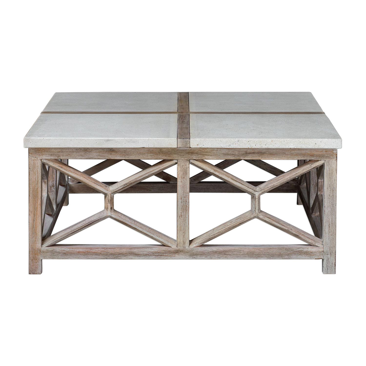 Uttermost Catali Coffee Table - Stone