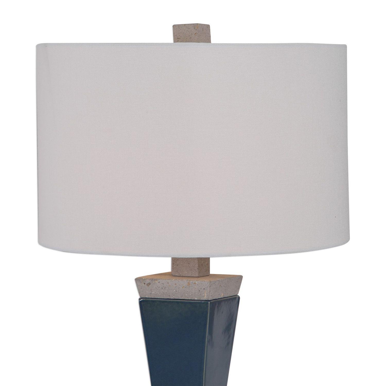 Uttermost Jorris Table Lamp - Blue