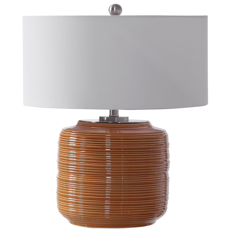 Uttermost Solene Table Lamp - Orange