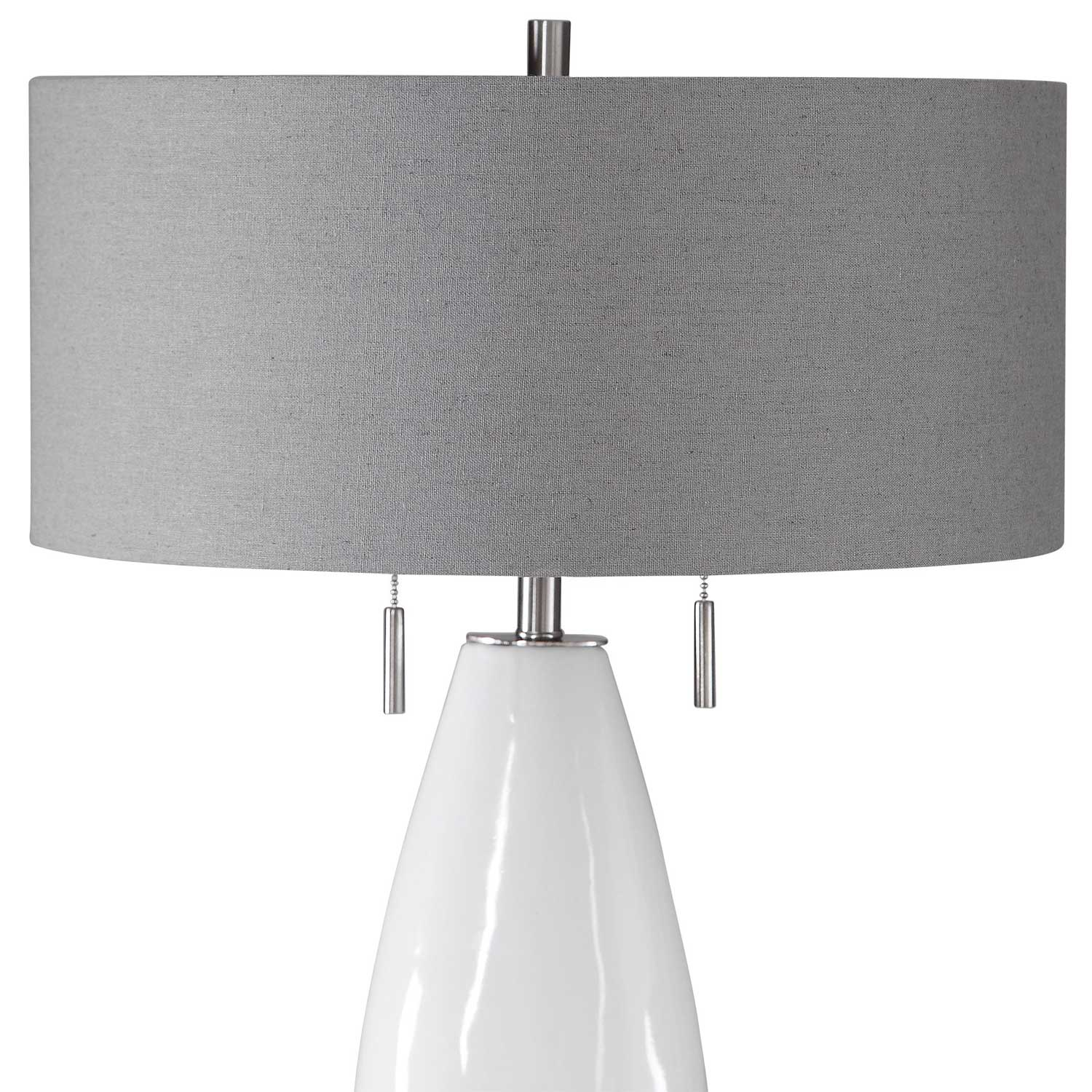 Uttermost Laurie Table Lamp - White Ceramic