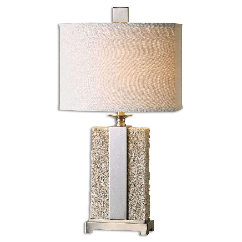 Uttermost Bonea Table Lamp - Stone Ivory