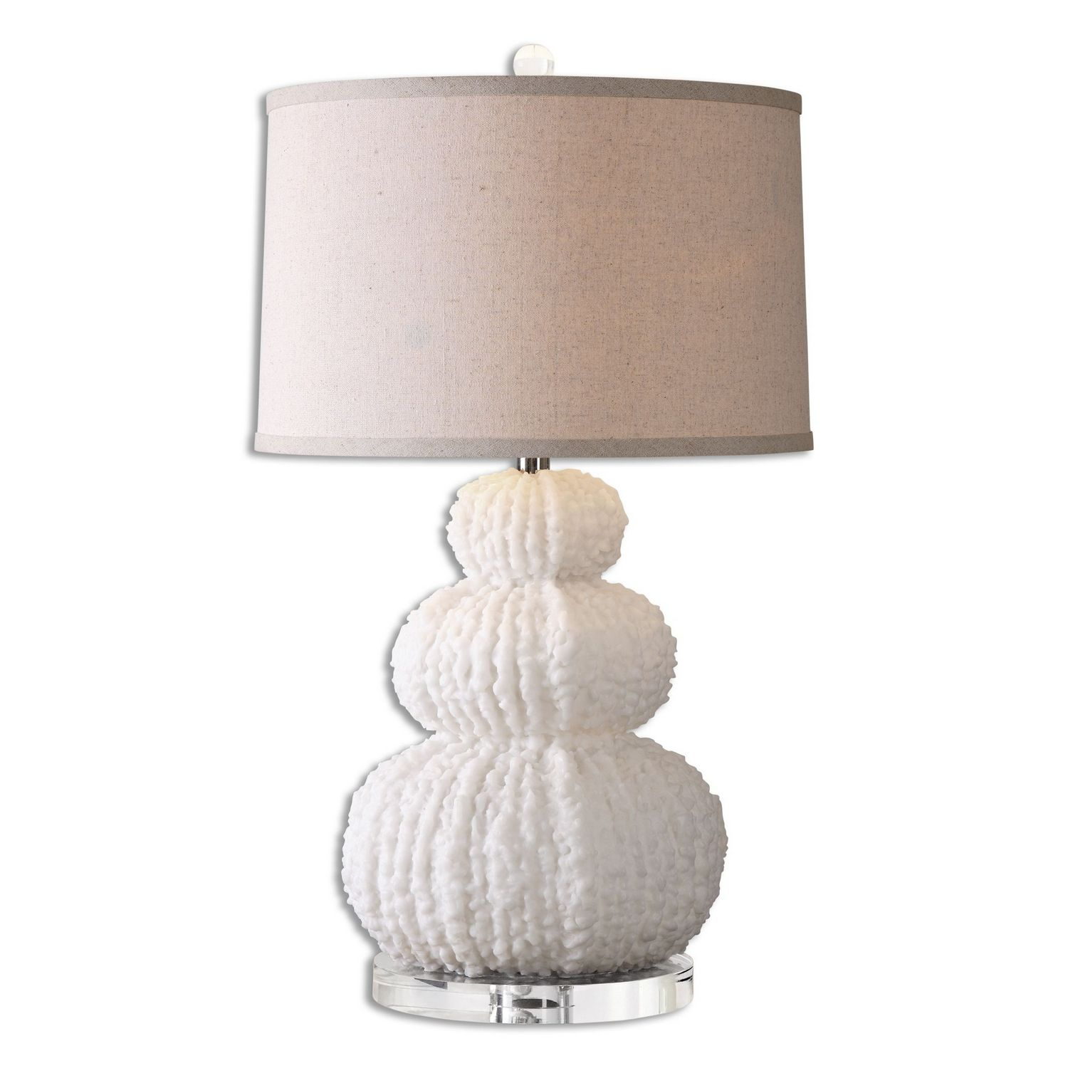 Uttermost Fontanne Shell Table Lamp - Ivory