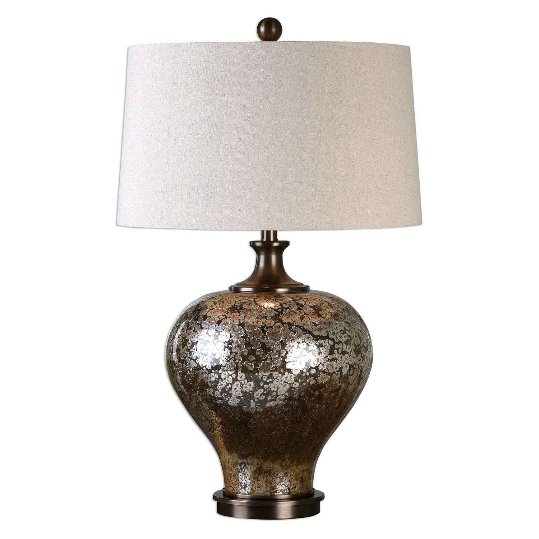 Uttermost Liro Mercury Glass Table Lamp