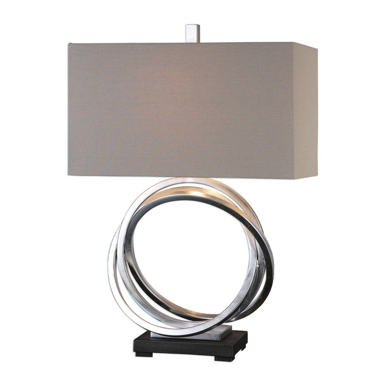 Uttermost Soroca Rings Lamp - Silver