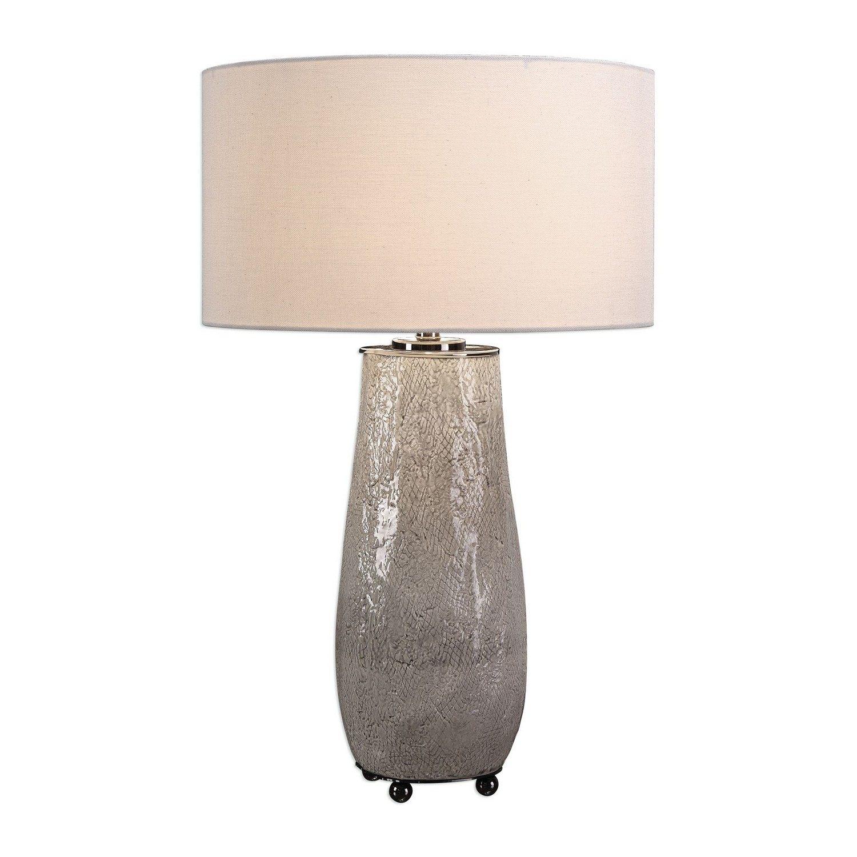 Uttermost Balkana Table Lamp - Aged Gray