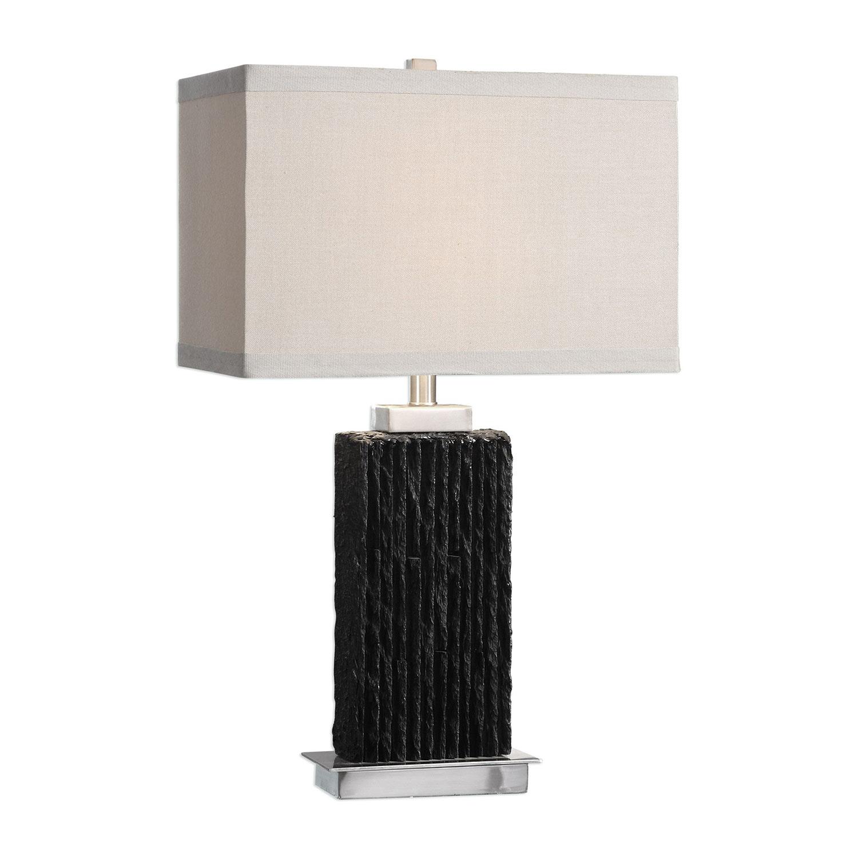 Uttermost Pravus Table Lamp - Black