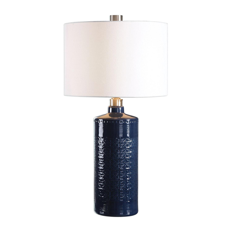 Uttermost Thalia Table Lamp - Royal Blue