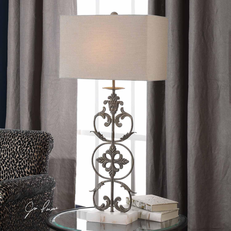 Uttermost Gerosa Table Lamp - Aged Bronze