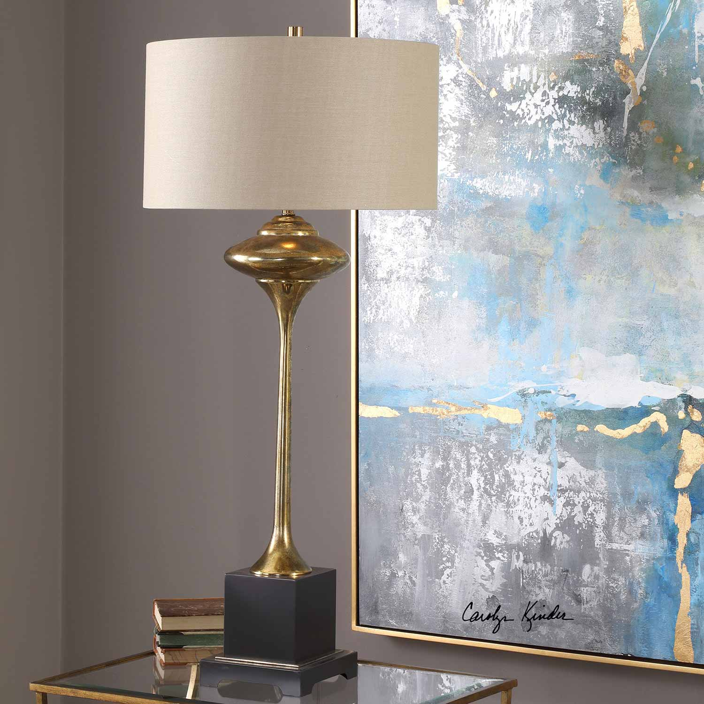 Uttermost Christiani Lamp - Metallic Gold
