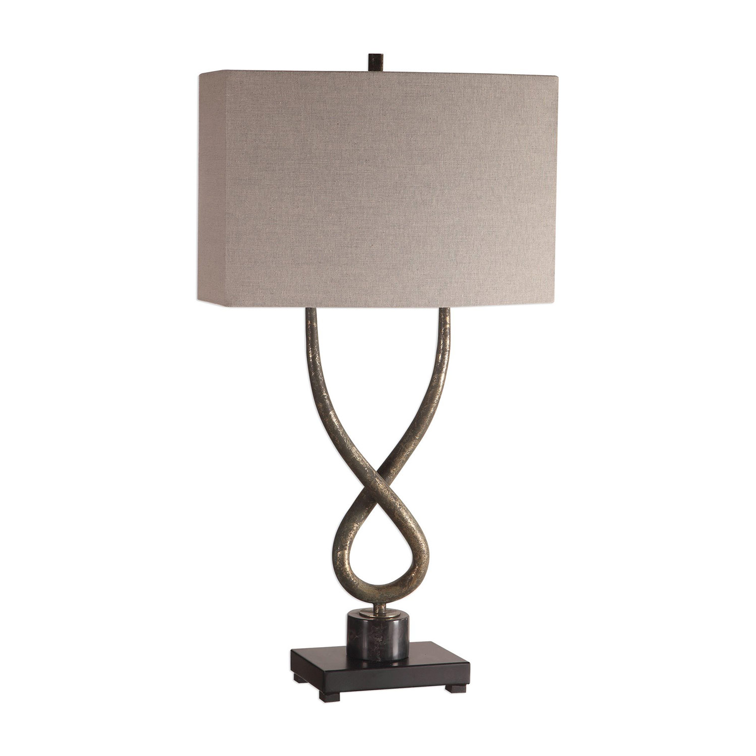 Uttermost Talema Lamp - Aged Silver