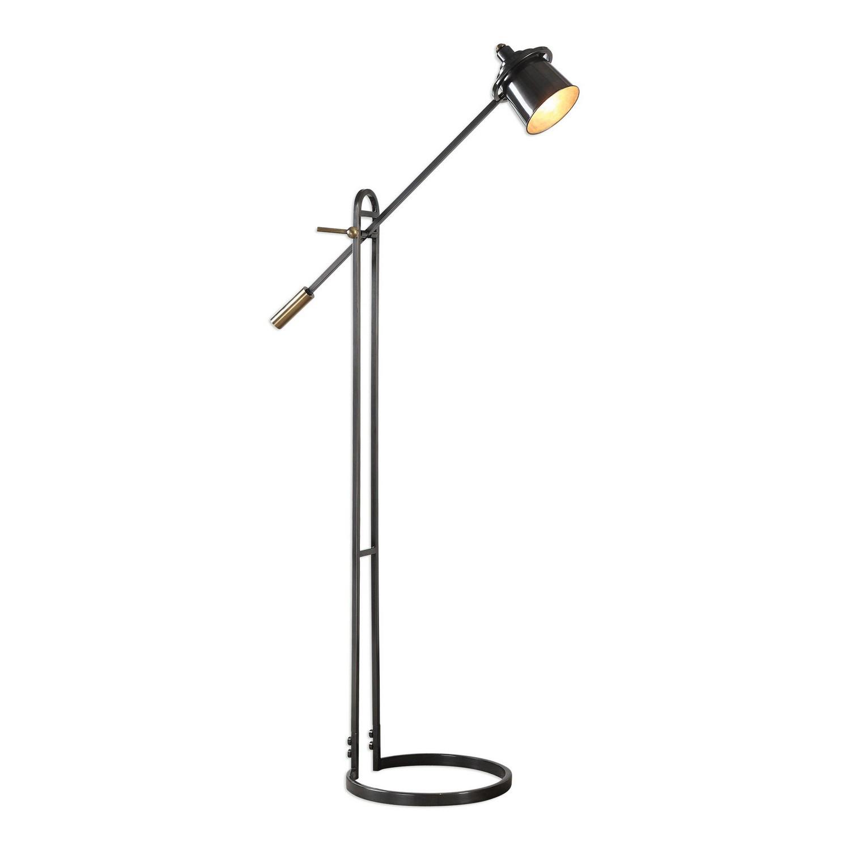 Uttermost Chisum Floor Lamp - Dark Bronze