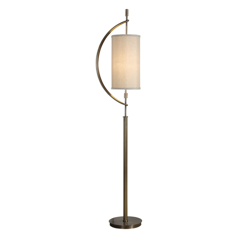 Uttermost Balaour Floor Lamp - Antique Brass