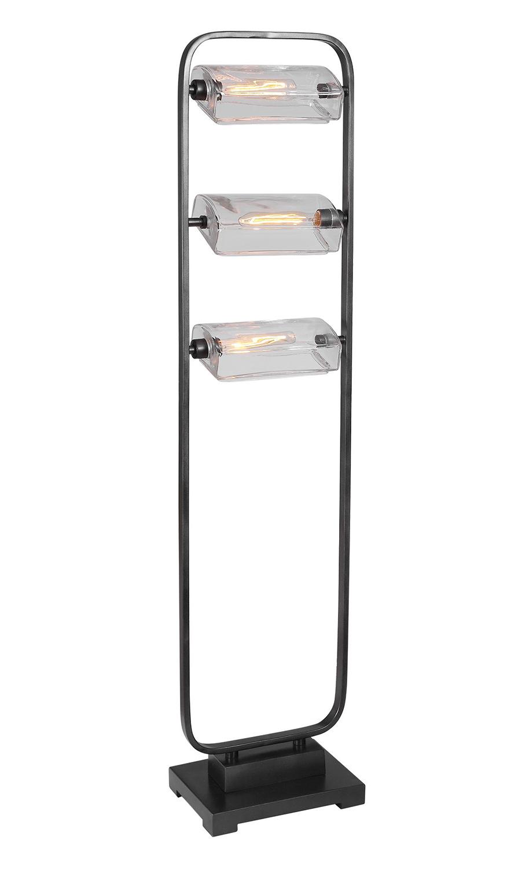 Uttermost Pilato Industrial Floor Lamp