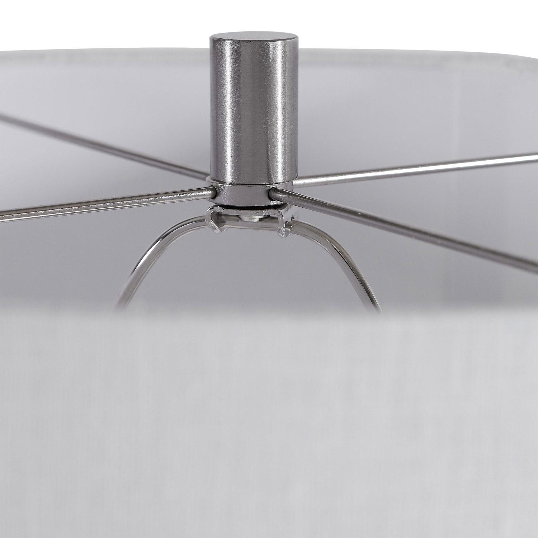 Uttermost Maxime Table Lamp - Smokey Gray