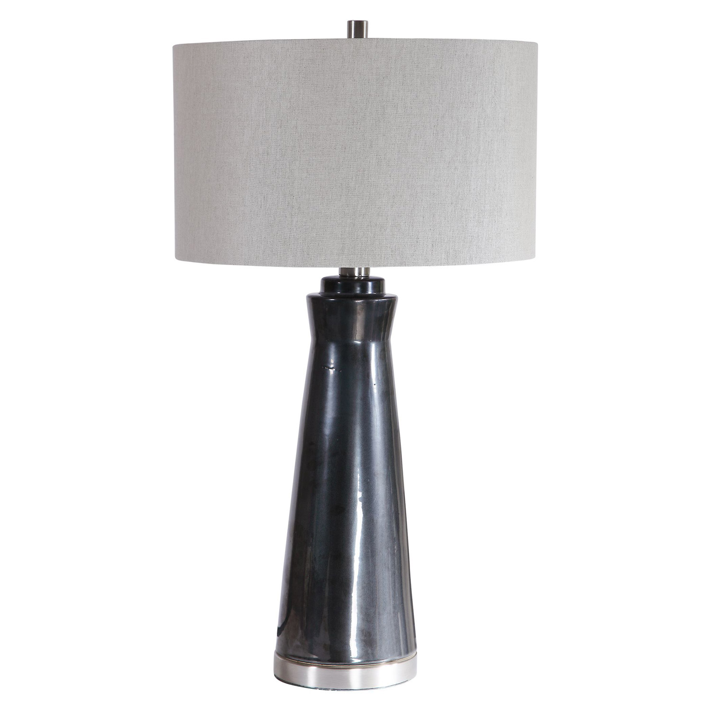 Uttermost Arlan Table Lamp - Dark Charcoal