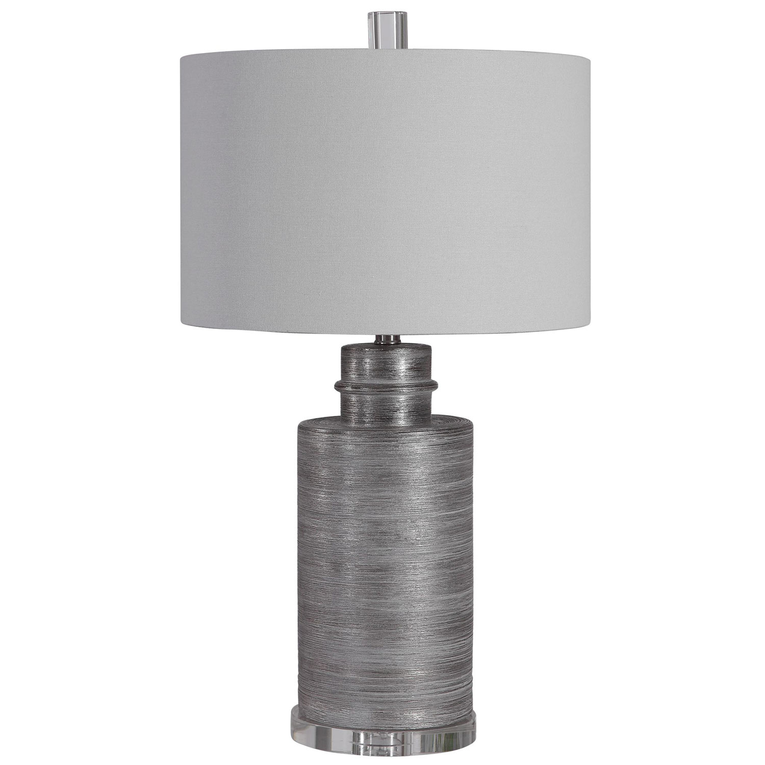 Uttermost Anitra Table Lamp - Metallic Silver