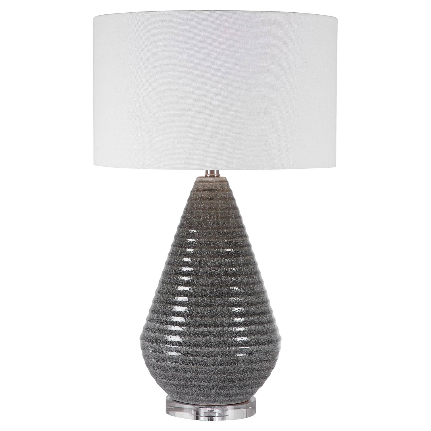 Uttermost Carden Table Lamp - Smoke Gray