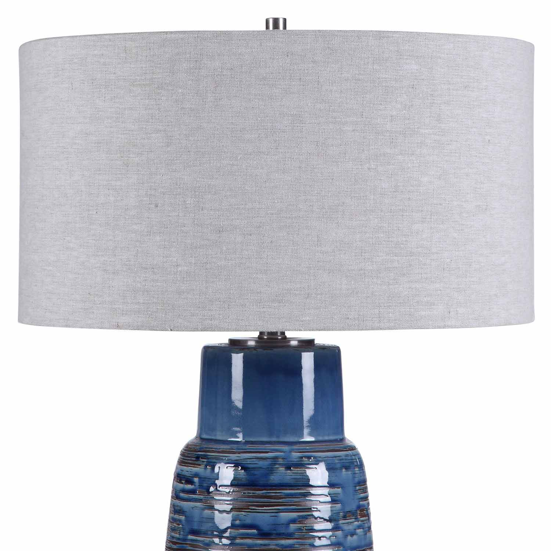 Uttermost Magellan Table Lamp - Blue