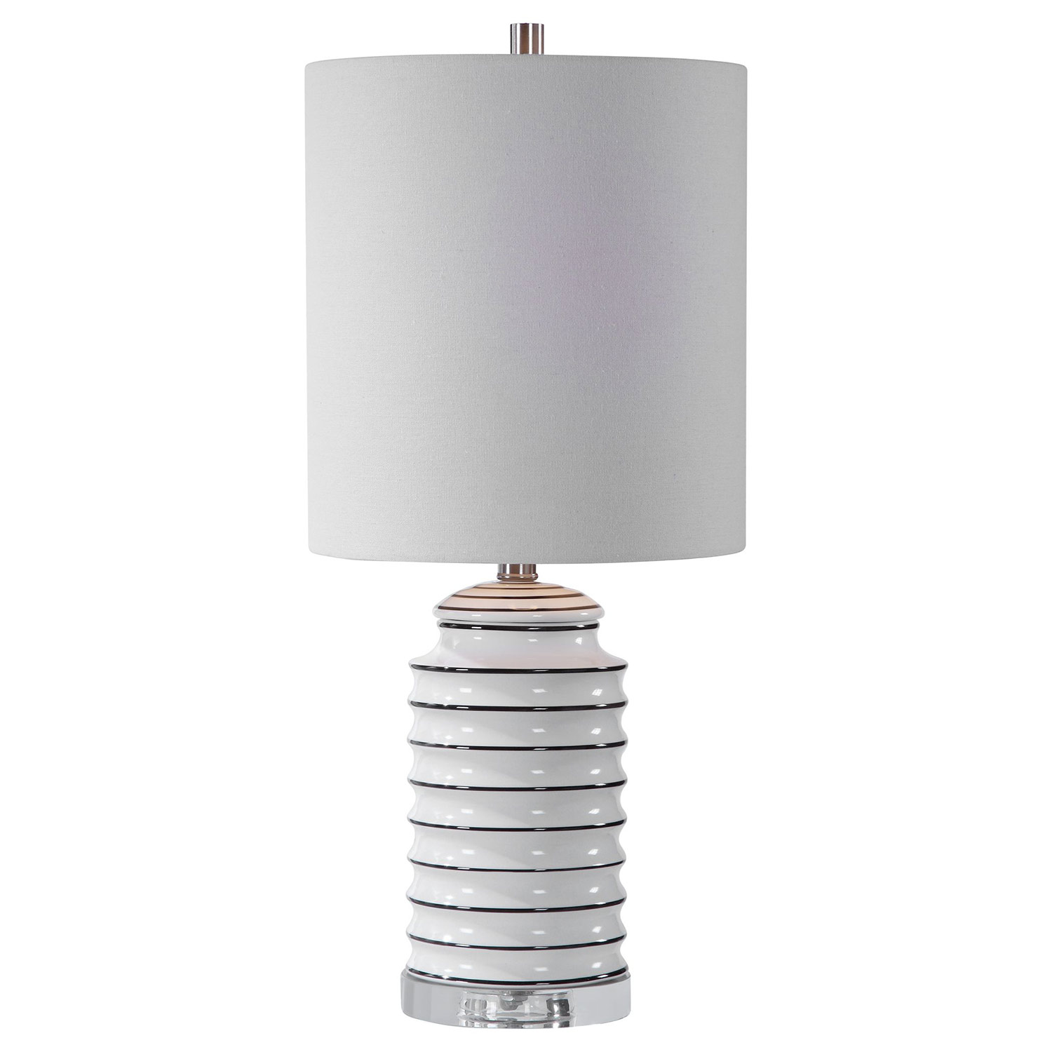 Uttermost Rayas Table Lamp - White