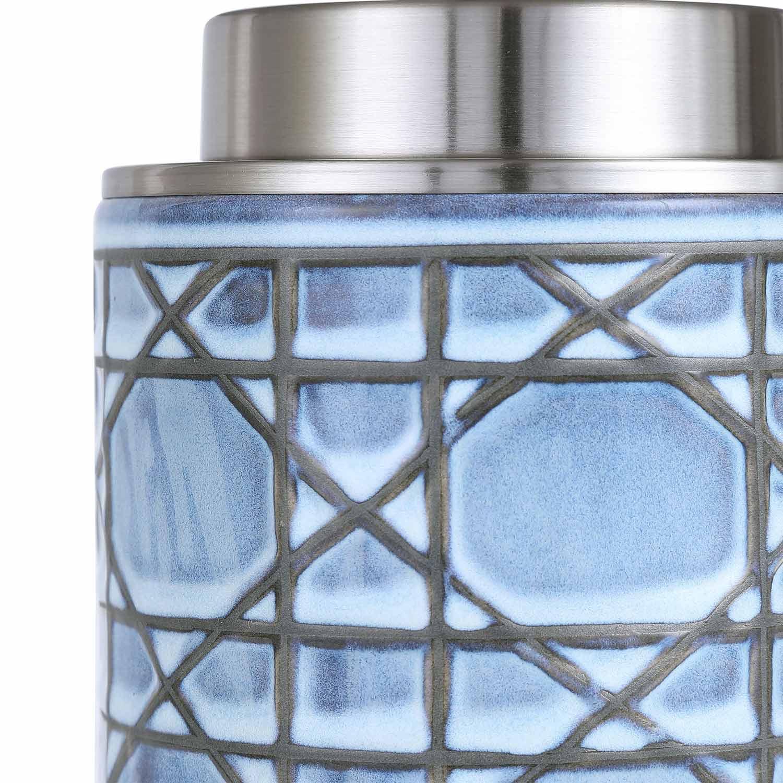Uttermost Morrisey Buffet Lamp - Blue