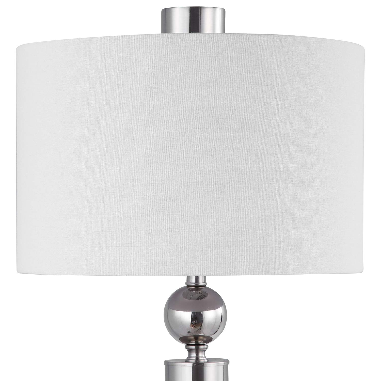 Uttermost Silverton Floor Lamp - Brushed Nickel