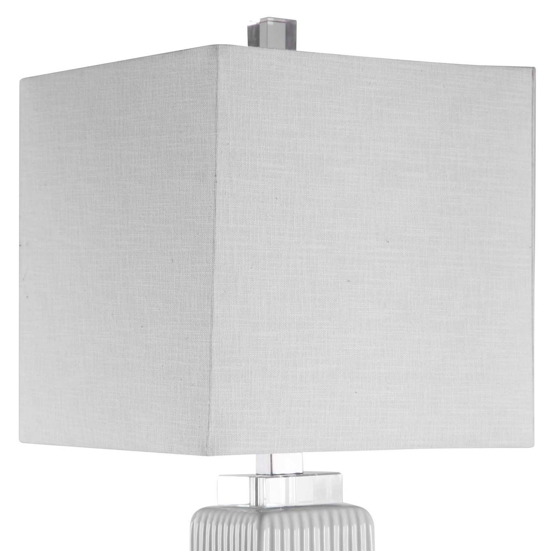Uttermost Bennett Buffet Lamp - White